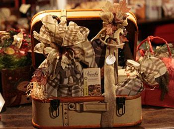 Geschenks packt
